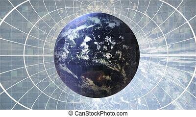 la terre, globalisation, -