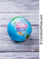 la terre, globe., planisphère