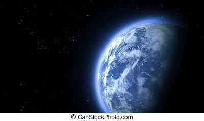 la terre, mouches, astéroïde