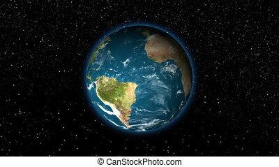 la terre, par, t, nuages, -, zoom, hd