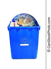 la terre, recyclage