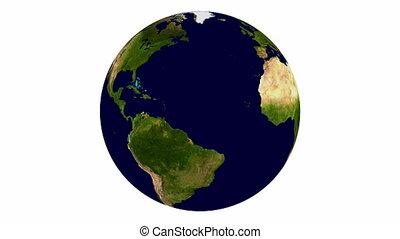 la terre, rotation