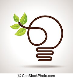 la terre, vert, idée