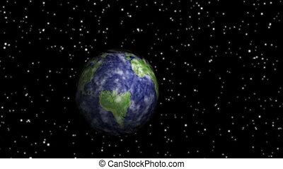 la terre, voler