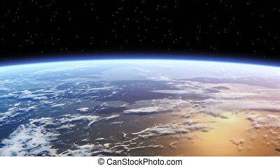 la terre, voler plus