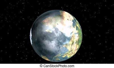 la terre, zoom