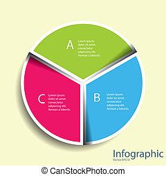 laag, moderne, ontwerp, opmaak, helling, format., /, mal, infographics, cutout, fil, website, zijn, gebruikt, effect, vermenigvuldigen, horizontaal, genummerde, tien, grafisch, lijnen, eps, vector, groenteblik, banieren, of