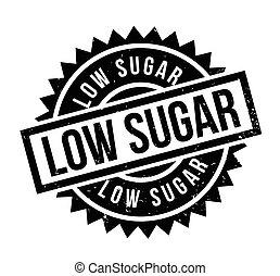 laag, suiker, rubberstempel