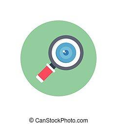 lab  flat color icon