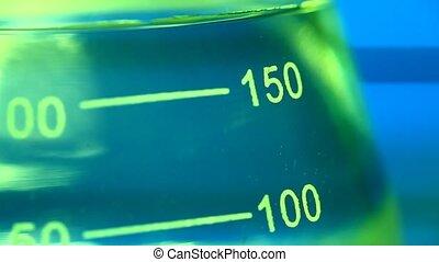 Lab test beaker