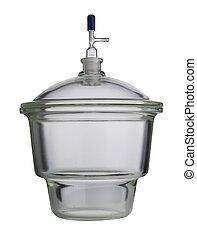 Lab. Test-tubes. Laboratory glassware on a background - Lab....
