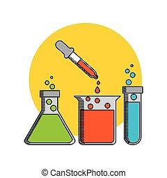 labb, vetenskap, design