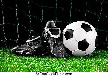 labda, futball, eresztékek