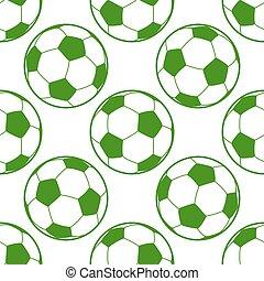 labda, futball, seamless, háttér