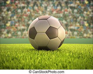 labda, futball, stadion