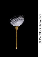 labda, golf