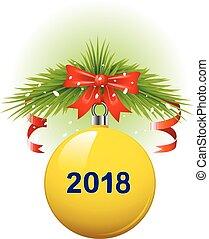 labda, karácsony, 2018