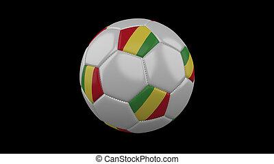 labda, kongó, labdarúgás, vakolás, lobogó, köztársaság, 3