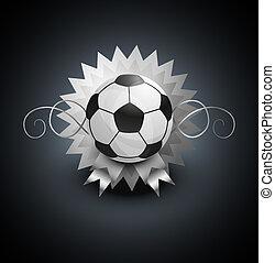 labda, labdarúgás, háttér