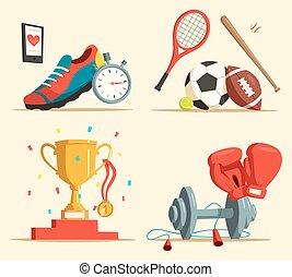 labda, rögbi, cipők, üt, futás, baseball, futball