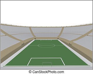 labdarúgás, futball, stadion