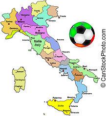 labdarúgás, olasz