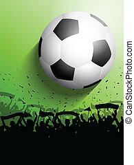 labdarúgás, vagy, futball, tolong