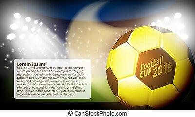 labdarúgás, világ, bajnokság, csésze, elvont, háttér