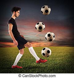 labdarúgó, tizenéves