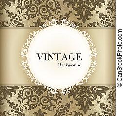 label., 葡萄酒, seamless, 矢量, retro, 背景圖形, illustration.