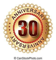 label., 30, gouden jaren, jubileum