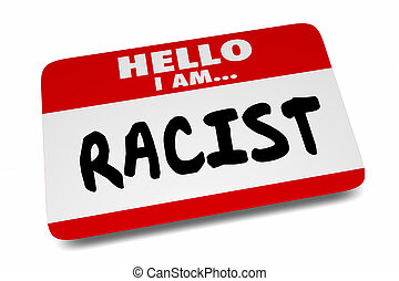 label, 3d, naam, sticker, animatie, discriminatie, vooroordeel, racist, hallo