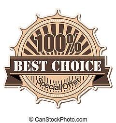 label Best Choice