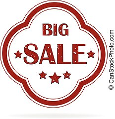 Label big sale