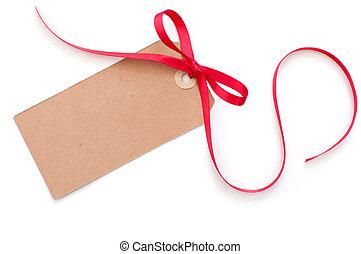 label, cadeau