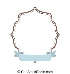 label decoration ribbon template