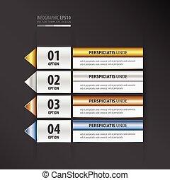 label design gold, bronze, silver, blue color