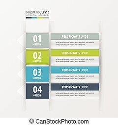 label design  Green, blue, gray color