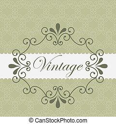 Label design over beige background, vector illustration