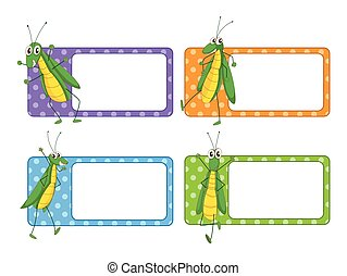 Label design with grasshopper
