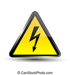 label electricity hazard