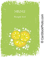 Label for product and your menu. Vector