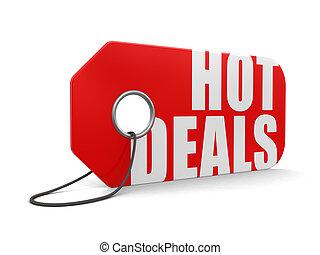 Label hot deals