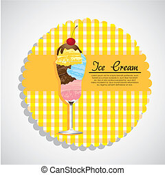 label ice cream
