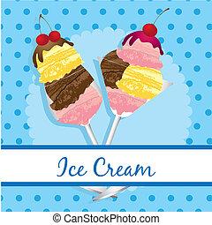label ice cream