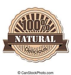 label Natural
