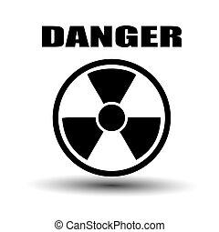 Label radiation hazard