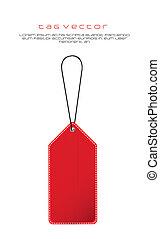 label, rood
