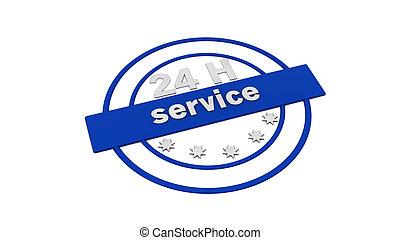 Label stamp service 24 h