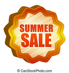 label summer Sale